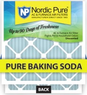 odor fighting pure baking soda air filter